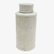 Made Ile Pot céramique blanc 2662202 QQ - Décoration - Ile d'Oléron Ø 17 cm - H. 36 cm