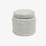 Made Ile Pot céramique blanc 2662206 QQ - Décoration - Ile d'Oléron Ø 16 cm - H. 14 cm