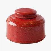 Made Ile pot céramique rouge 2662903 QQ - Décoration - Ile d'Oléron Ø 20 cm - H. 14 cm