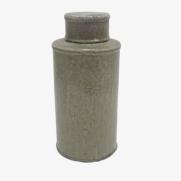 Made Ile Pot céramique taupe 2662302 QQ - Décoration - Ile d'Oléron Ø 17 cm - H. 36 cm