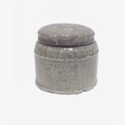 Made Ile Pot céramique taupe 2662306 QQ - Décoration - Ile d'Oléron Ø 16 cm - H. 14 cm