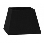 Made Ile Abat jour noir tissu 4417880 LL - 17x10x13cm