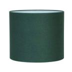 Made Ile Abat jour tissu rond bleu canar 2235828 LL - 35x30cm