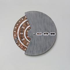 Made Ile Decoration Ile d'Oleron - Calendrier circulaire 19320 Ch - 46cm