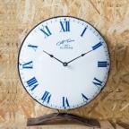 Made Ile Horloge émaillée base métal 20079 Ch - 35cm