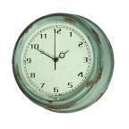 Made Ile Horloge ronde bleue 010051 SP - 30x10cm