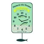 Made Ile Horloge sardine 011297 SP - 15x27cm