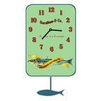 Made Ile Horloge sardine pirate 011300 SP - 15x27cm