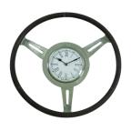 Made Ile Horloge volant ronde metal - 46cm