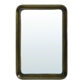 Made Ile Miroir metal bronze rectangle 7302218 LL - 62x90x10cm