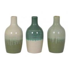 Made Ile Vase vert 5913776 LL - 18cm